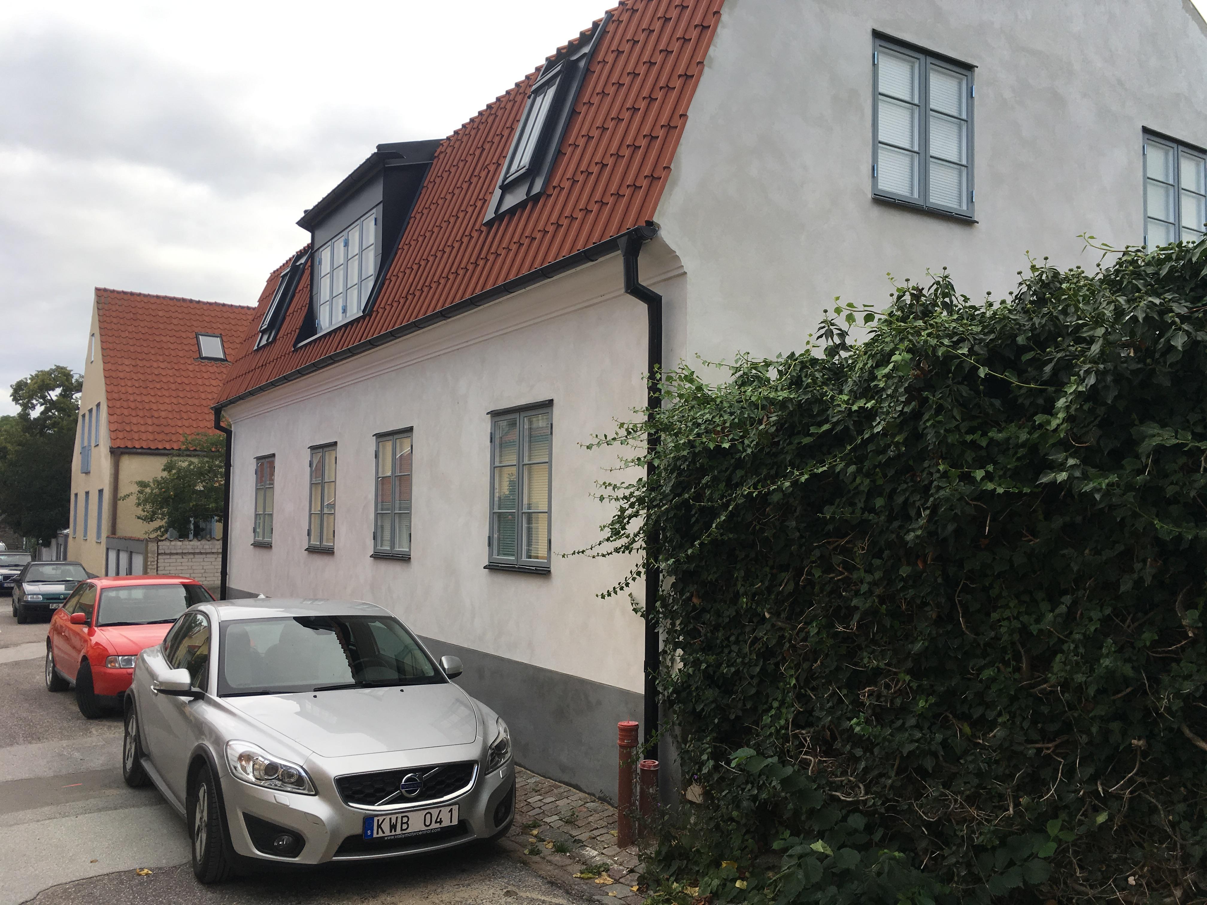 Sankt Nikolaigatan 22, Visby. DBWs Byggnadsvårdspris 2017