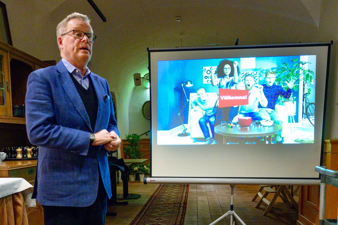 Erik Strand, Styrelseordf Sv Spel